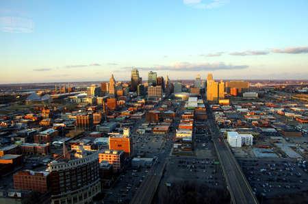 Kansas City Missouri at Twilight