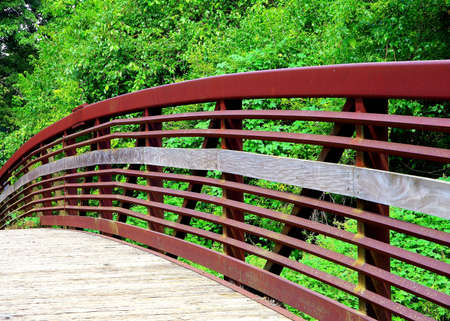 The Indian Creek Bike and Hike Trail in Overland Park Kansas