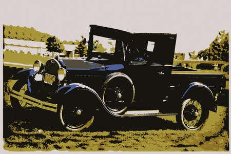 Antique Pick-up Truck