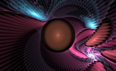 annotation: Abstract fractal   computer - generated image: illustration