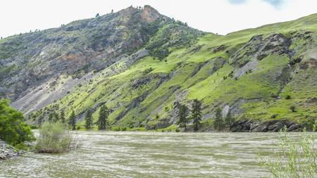 Salmon River, landscape, natural wonder, Idaho,USA. photo