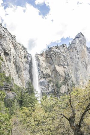 rockslide: Bridalveil Fall,Yosemite National Park, CA. USA