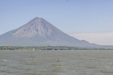 vulcano: Concepcion Vulcano, Ometepe Island, Rivas, Nicaragua Stock Photo