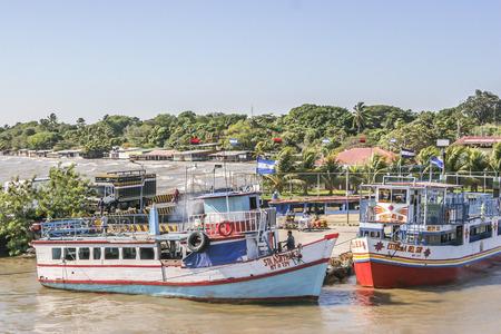 jorge: San Jorge Pier the gateway to Omete Island, Rivas, Nicaragua