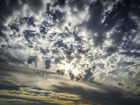 Dramatic Sky above Bolsa Chica ecological reserve, Huntington Beach, California, United States