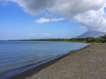 nicaraguan: Nicaraguan lake panoramic view, Punta Jesus Maria, Ometepe Island, Rivas, Nicaragua.