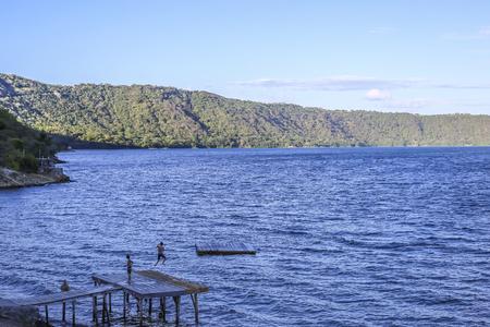 Apoyo lagoon, Masaya, Nicaragua