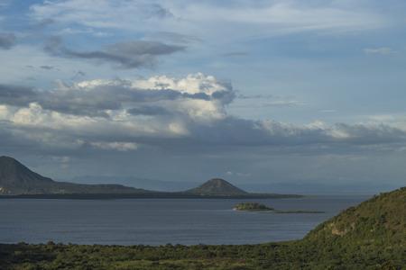 Managua's lake Panoramic view,.Managua, Nicaragua.