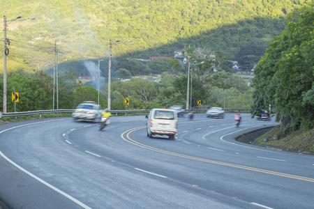 Cuesta del plomo up hill highway, Managua, Nicaragua Reklamní fotografie