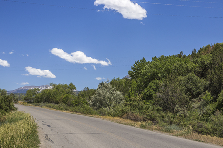 Scenery view of Highway 132, Paonia, Colorado, United States of America