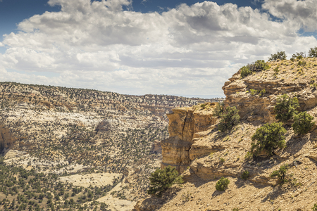 Eagle Canyon panoramic view, Utah, USA.