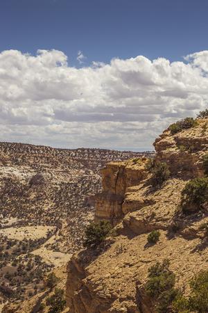 eagle canyon: Eagle Canyon scenery, Utah, USA. Stock Photo