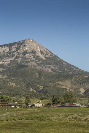 Mount Lamborn Panoramic view , Paonia, Colorado, USA