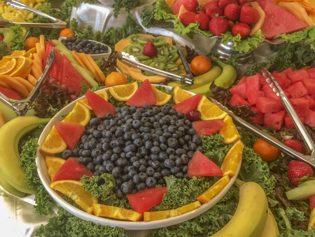 Delicious fruits buffet