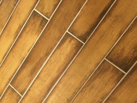 Brown tile floor pattern
