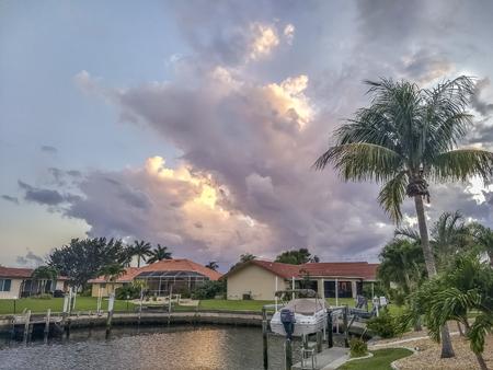 Sunset at Punta Gorda Florida