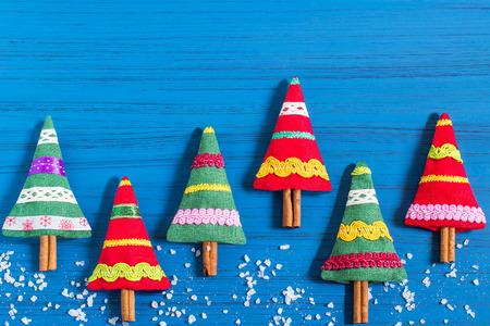 Kerstzakje met aromatische kruiden je eigen handen maken. Kerstcadeau. Origineel kunstproject. DIY-concept. Stap voor stap foto-instructies. Stap 7. Eindresultaat Stockfoto