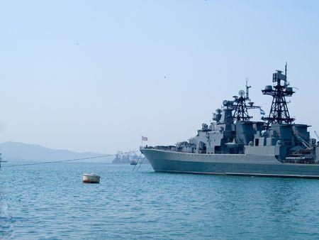 a battleship: russian battleship