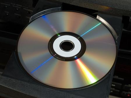 blue-ray disk tray photo