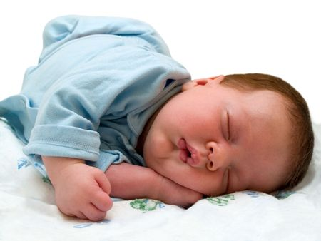 sleeping angel photo