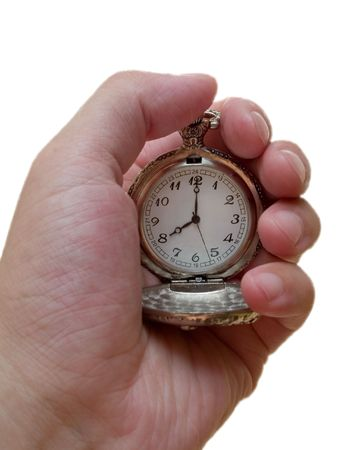 oclock: pocket watch. 8 oclock. time concept