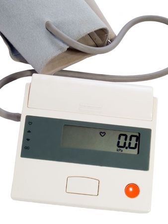 blood pressure measuring instrument - automatic tonometer Stock Photo - 2349868