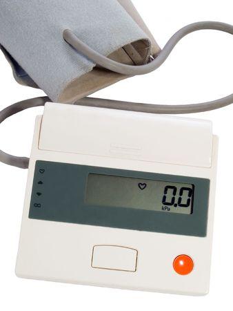 blood pressure measuring instrument - automatic tonometer Stock Photo - 2349868