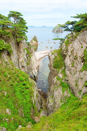 far east: en vista de la Reserva Marina del Lejano Oriente de Rusia en Primorie