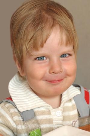 smiling little boy portrait  Stock Photo - 13278607
