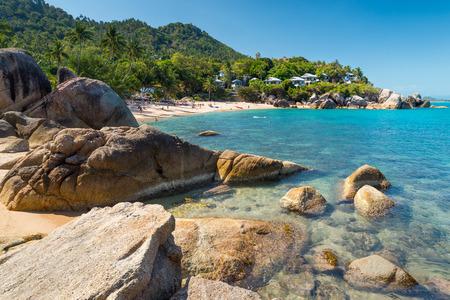 koh: Silver beach, Crystal Beach beach view at Koh Samui Island Thailand