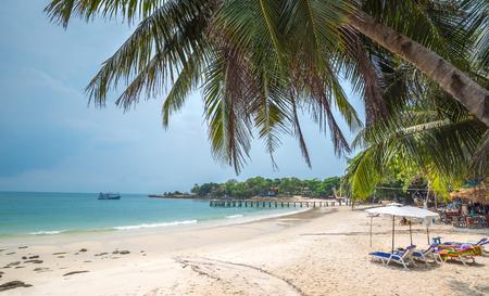 beach of the Koh Samed islamd, Thailand Rayong Editorial