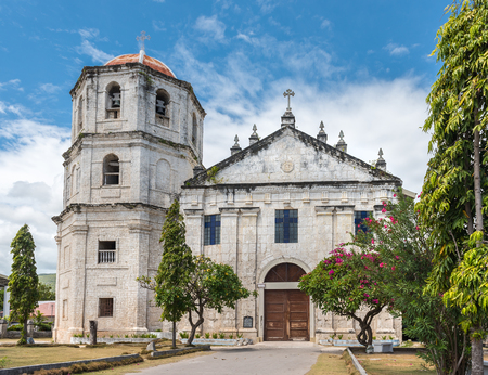 immaculate conception: Our Lady of the Immaculate Conception catholic Church at Oslob in Sebu, Philippines