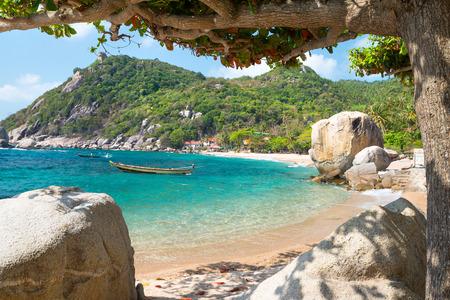 Sea view at Koh Tao island , Samui, Thailand