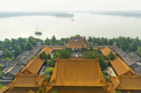 emperor: View of Emperor Summer Palace, Beijing China