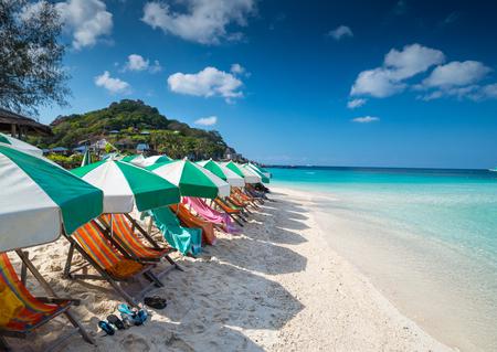 View of Nang Yuan island of Koh Tao island Thailand 免版税图像