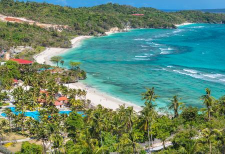 View of the Lapus-lapus beach Boracay island, Philippines
