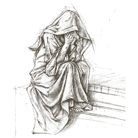 墓地の天使