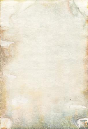 Moldy vieux papier aquarelle texture Banque d'images