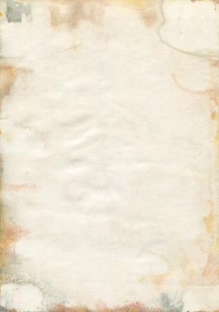 Moldy vieux texture de papier aquarelle