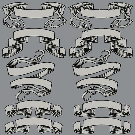 Beschädigte Bänder und Farbbänder einstellen 004 Standard-Bild - 30537659