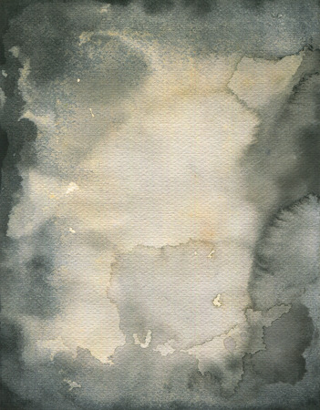 downhearted: Stained watercolor texture