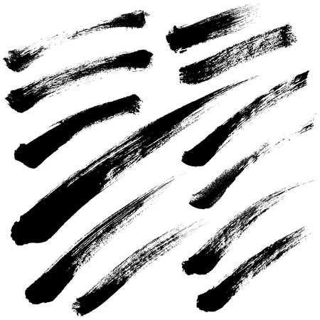 brush strokes: Brush Strokes set 05.