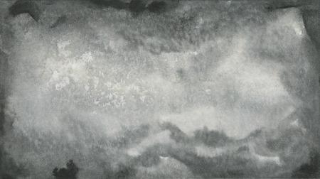 抽象的な黒い水彩テクスチャ