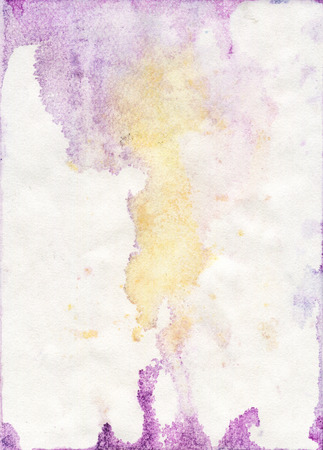 Stained Watercolor Paper Texture