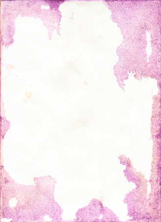 Stained Colorful Watercolor Paper Texture