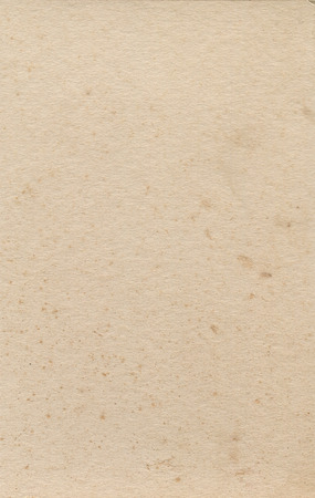 Stained old cream paper texture Stock Photo