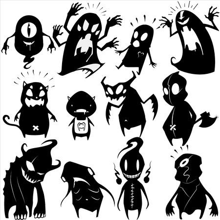 pop culture: Little Monsters set
