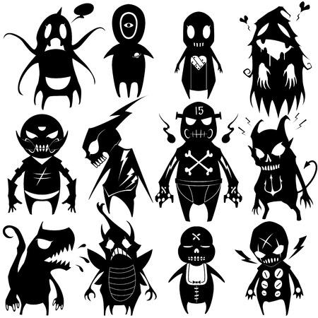 pop culture: Little Monsters set 05