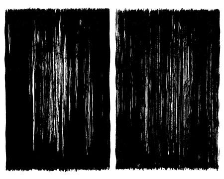 brush stroke: Grunge brush stroke background frames
