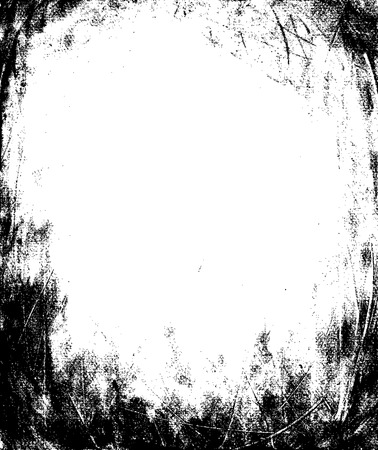 Grunge Frame Textur